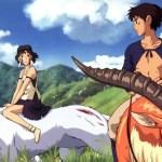 San e Ashitaka si salutano alla fine del film