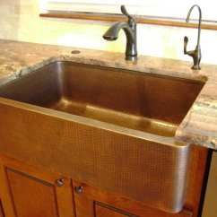 Farmhouse Kitchen Sinks Reclaimed Cabinets Farm Sink Ideas  Loccie Better Homes Gardens