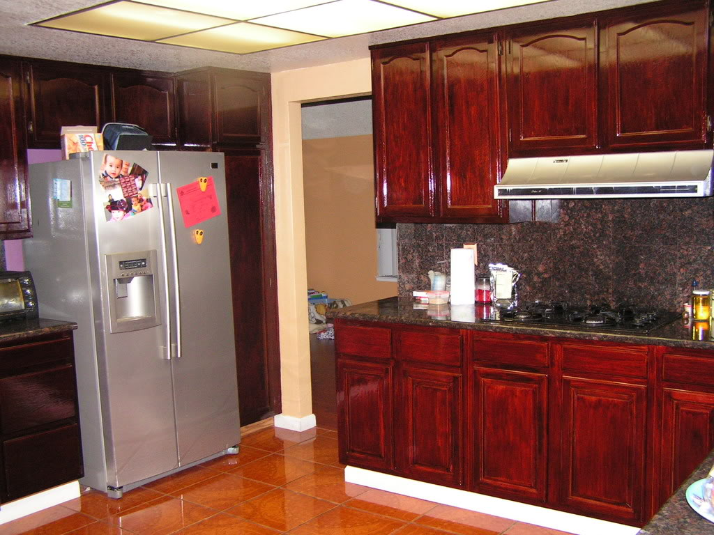 staining kitchen cabinets darker work table with drawers java gel stain  loccie