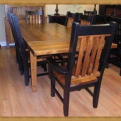 Rustic Wood Kitchen Table And Chairs Glider Chair With Ottoman Sale Tables  Loccie Better Homes