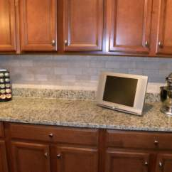 Black And White Tile Kitchen Backsplash Farm Sinks Design  Loccie
