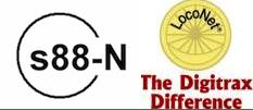 Occupancy detection: S88 vs. Loconet