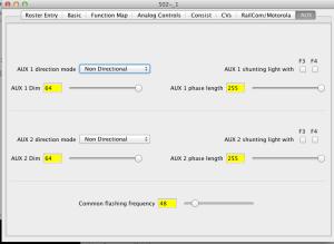 JMRI decoder Pro & Tams FD-R
