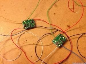 Décodeur DCC Tams FD-R Basic avec fils soudés
