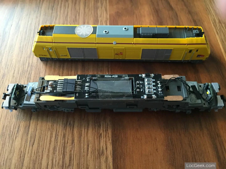 RockyRail RR675085 - SNCF BB75000 Prima Infra prise NEM651
