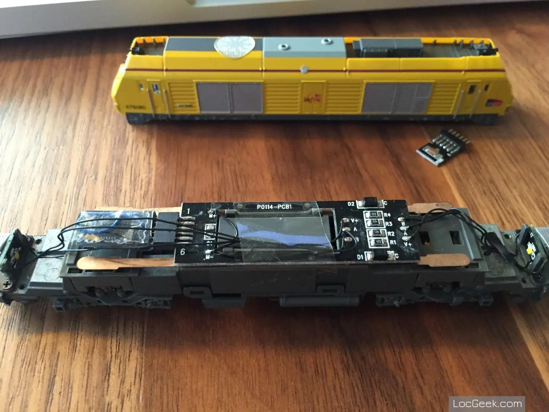 RockyRail RR675085 - SNCF BB75000 Prima Infra et décodeur NEM651