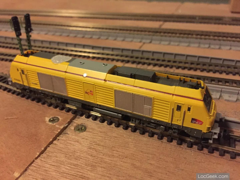 RockyRail RR675085 - SNCF BB75000 Prima Infra sur voie