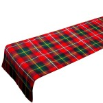 Bespoke Reiver Lightweight Tartan Table Runner Lochcarron Of Scotland