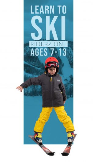 Riderz One Beginner Ski Lesson (Ages 7-13)