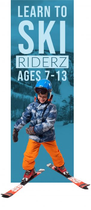 Riderz Ski Lesson (Ages 7-14)
