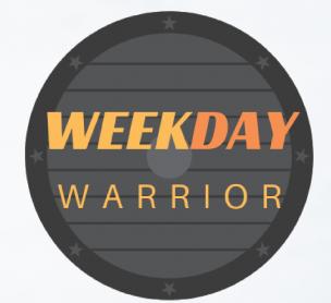 Weekday Warrior Pass 2021/2022