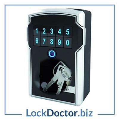 Master Lock 5441EURD Bluetooth and Combination Key Safe