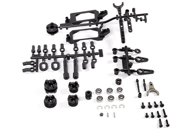 Axial 2-Speed Hi/Lo Transmission Components