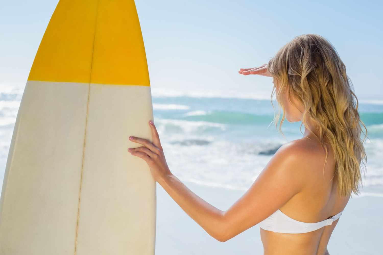 Beach Wellen