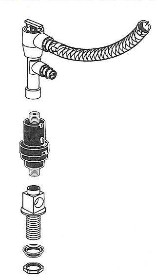 American Standard 738452-0070A Flush Mate Lower Supply