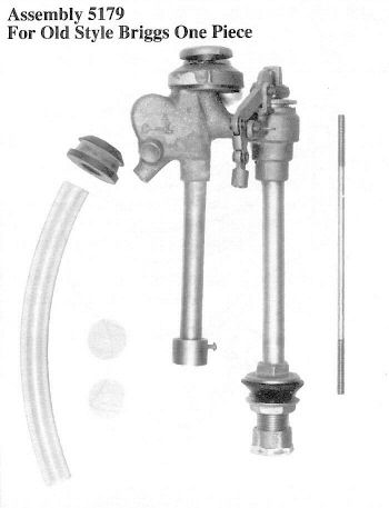 Case Toilet Parts 5179 Fill Valve (call for repair kit