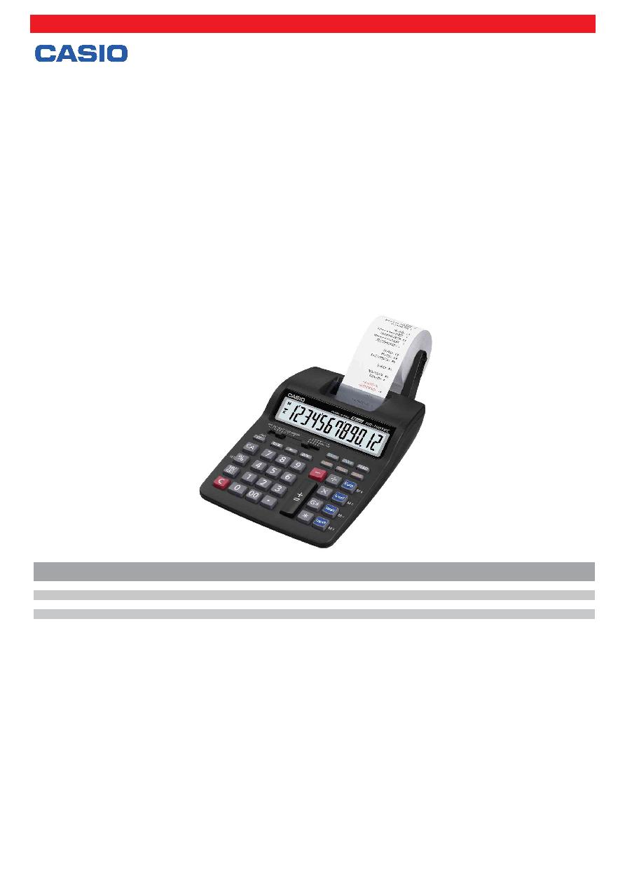 HR-150 TEC CASIO druckender Tischrechner HR-150 TEC