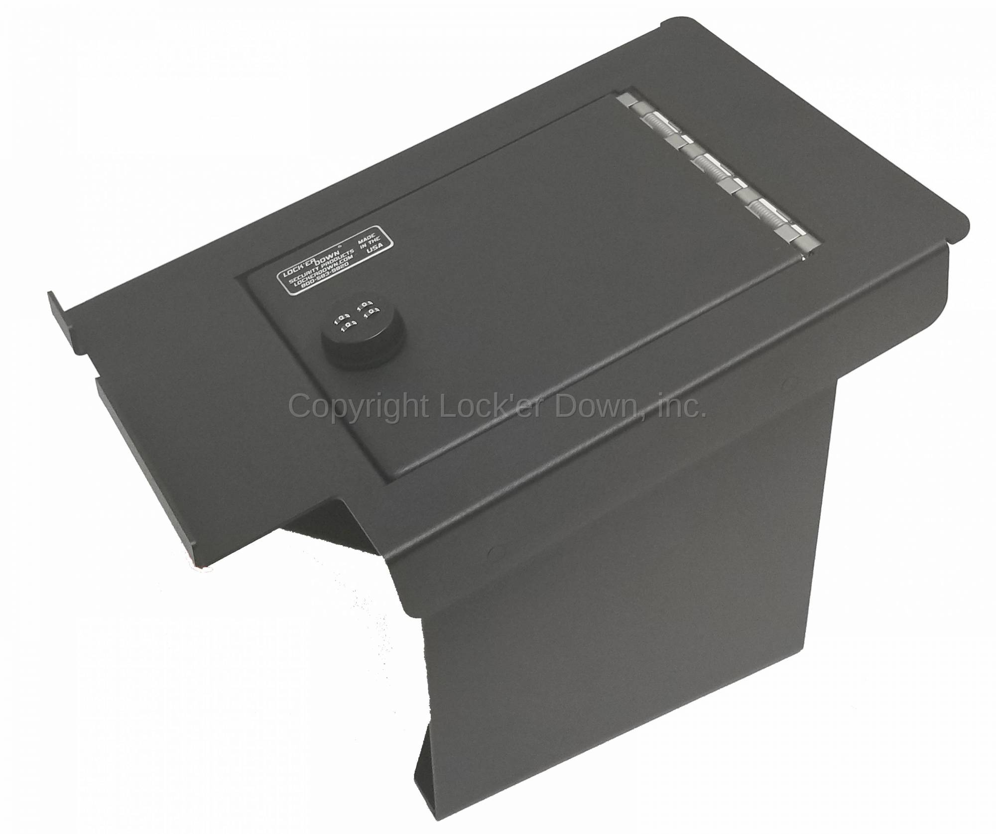 hight resolution of lock er down console safe 2011 2016 ford super duty model ld2034