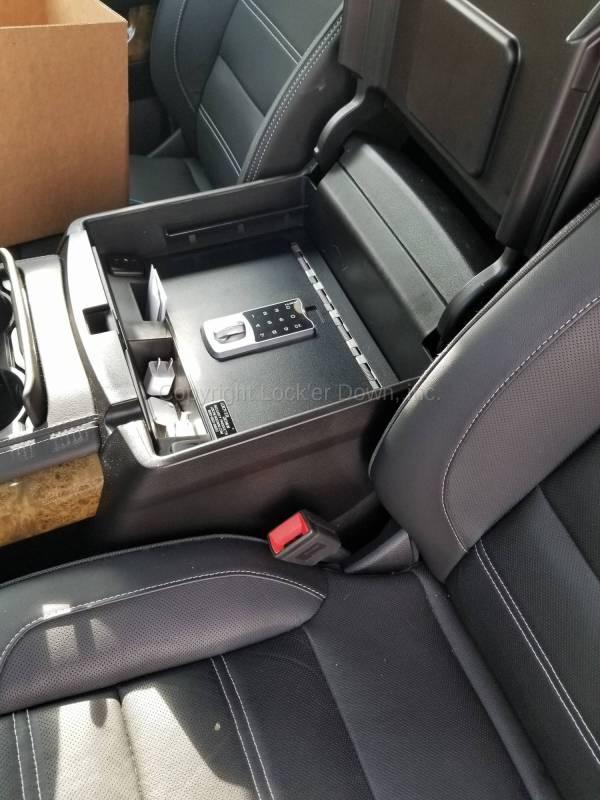 Exxteme Console Safe 2015 - 2019 Chevrolet Suburban