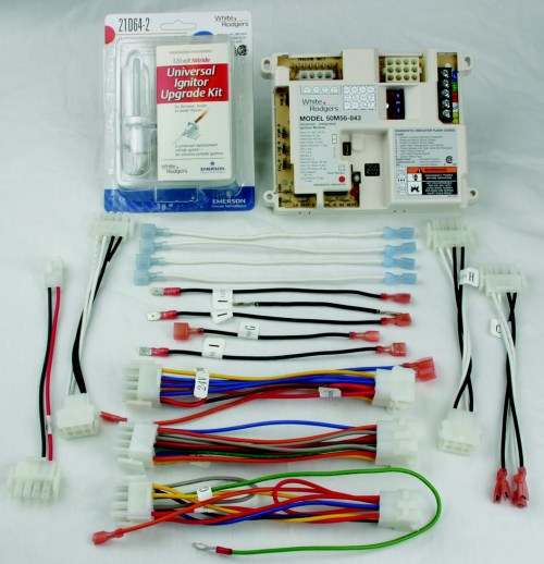 small resolution of universal hot surface ignition integrated furnace control kit includes 21d64 2 universal ignitor