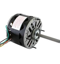 products century multifit 9724 condenser fan ac motor 1 4 to 1 6 hp 208 to 230 vac 60 hz 1 ph nema 42 1625 rpm enclosed enclosure [ 1000 x 1000 Pixel ]