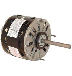 century by packard dl1036direct drive blower motor permanent split capacitor 1075 nameplate rpm  [ 1000 x 1000 Pixel ]