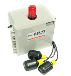 little giant 513258 single phase indoor outdoor duplex alarm system and pump control [ 3024 x 3024 Pixel ]