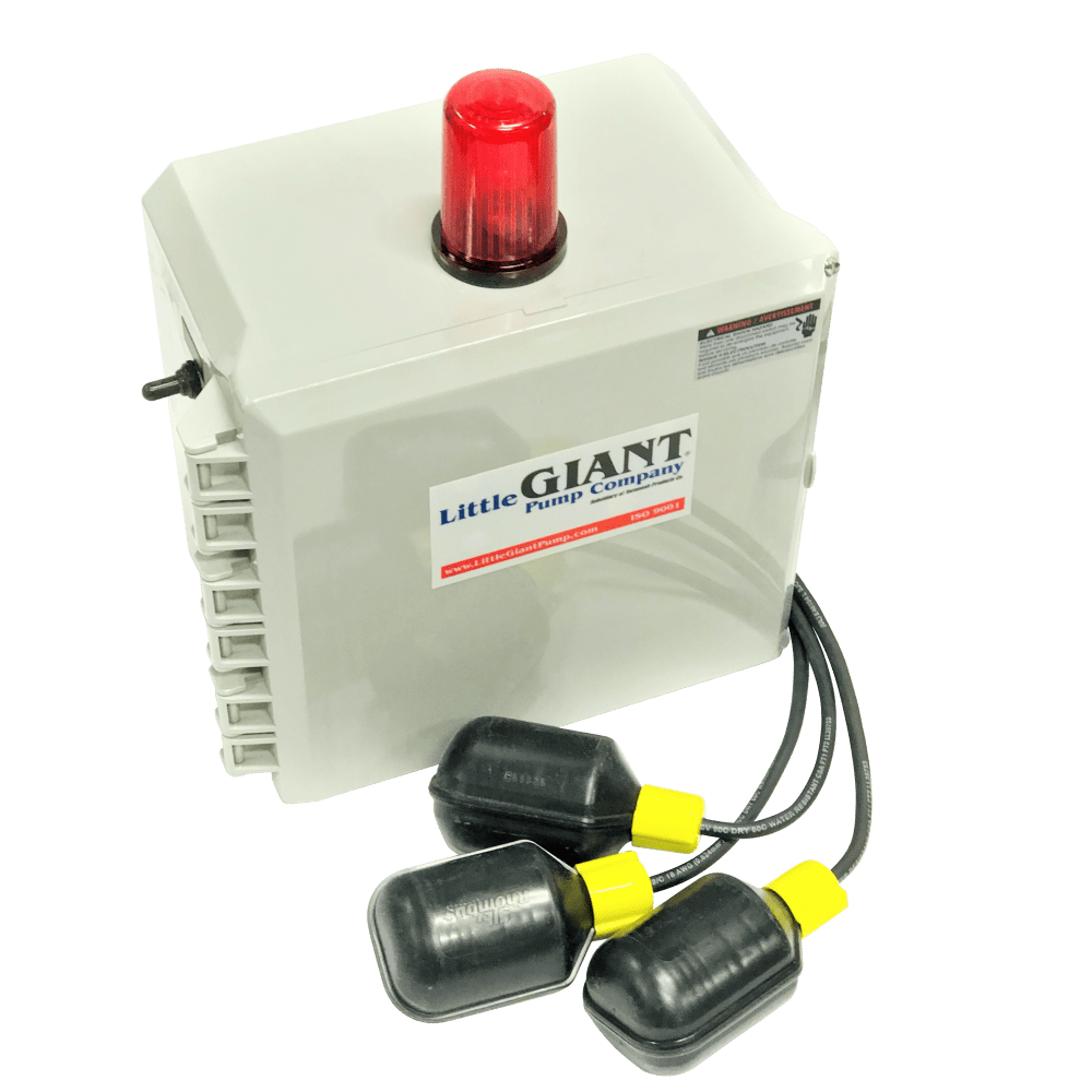 medium resolution of little giant 513258 single phase indoor outdoor duplex alarm system and pump control