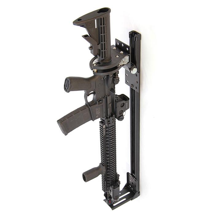 santa cruz model sc 920 mr universal rail rifle muzzle gun rack