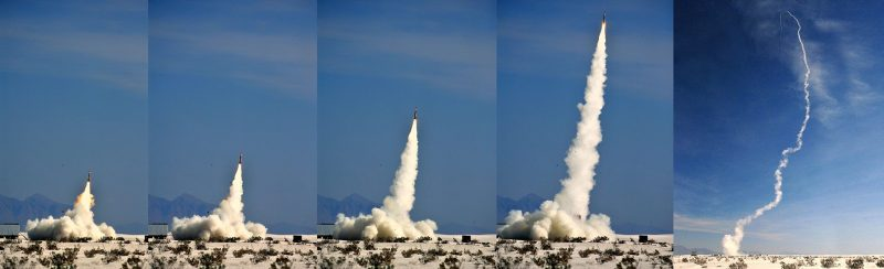 Launch of PAC-3 MSE missile. Lockheed Martin Photo.