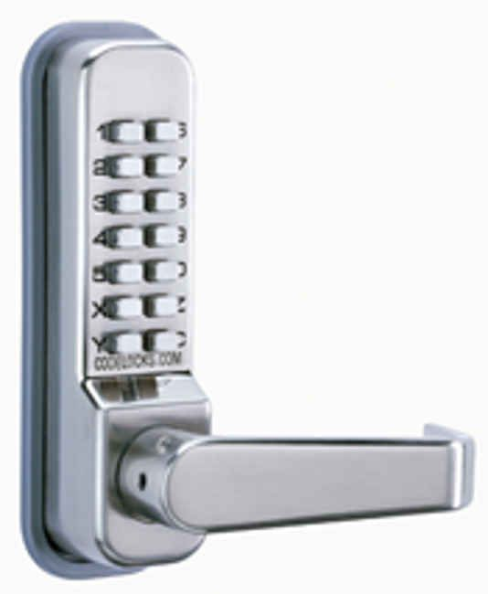 Transistorised Code Lock With Torch