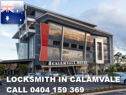 Locksmith Calamvale Access Ph 0404159369