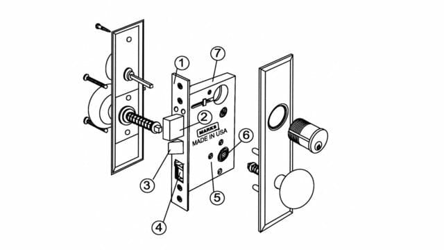 Door Lockset Diagram & Schlage Maglock Wiring Diagram New
