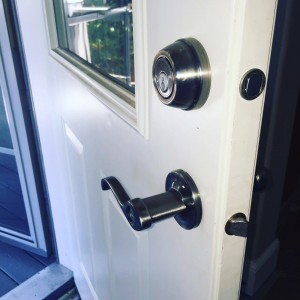 Deadbolt lock repair