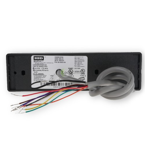 hid miniprox reader wiring diagram simple easy plant cell animal buy mullion mount proximity card locks online