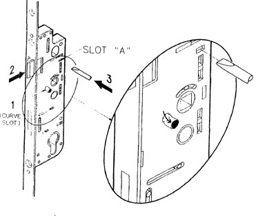 How To Swap the function Of A Multipoint NightLatch