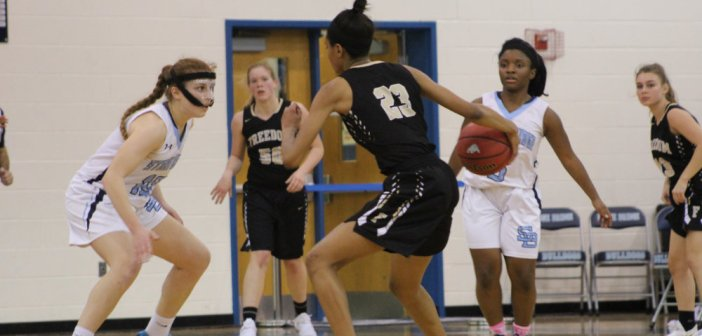 Girls Basketball: Freedom Defense Smothers Stone Bridge in Potomac District Battle