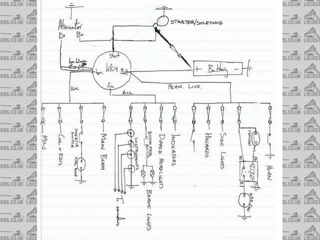 Wiring diagram, does this look right?