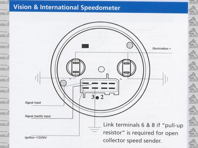 colorful vdo speedometer wiring diagram model electrical diagram rh itseo info vdo speedo wiring diagram vdo gps speedometer wiring diagram
