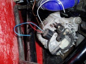 Alternator wiring?