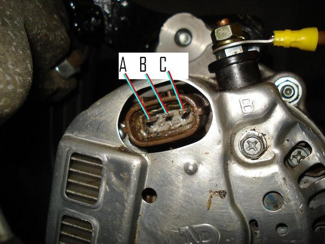 10si Alternator Wiring Diagram Denso