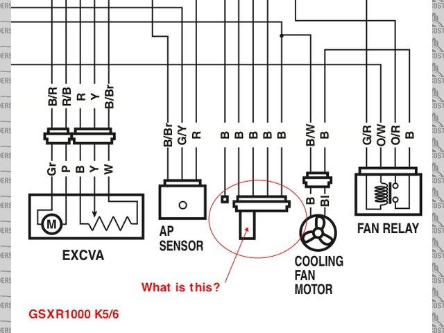 GSXR1000 K5/6 Harness