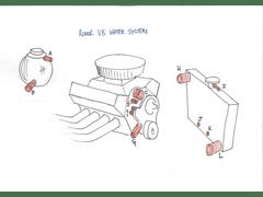 Rover V8 Cooling Diagram