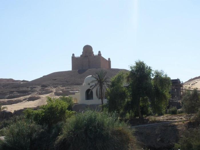 Egipto: Mausoleo de Aga Khan
