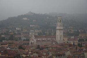 Vistas desde la Torre dei Lamberti de Verona