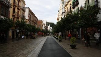 El barrio de Triana y la Giralda de Sevilla
