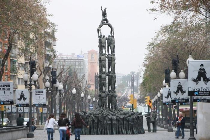 monumento a los Castells