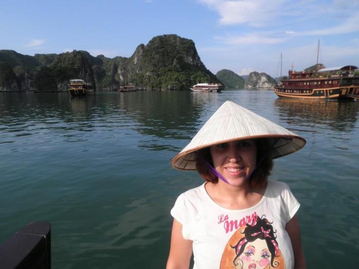 En la Bahía de Halong