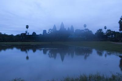 Amanecer en Angkor