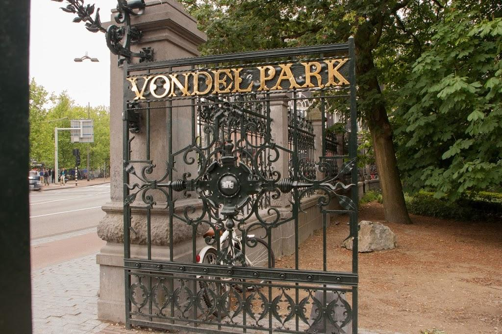 Entrada a Vondelpark